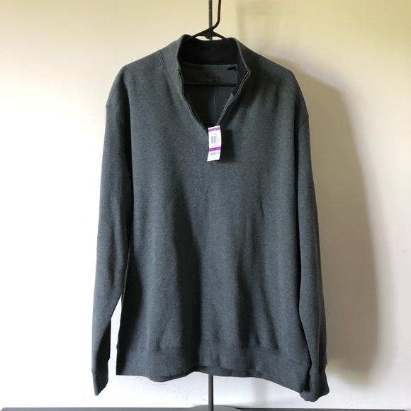 Tasso Elba Other - Tasso Elba 1/4 Zip Pullover Sweater Mens Size 2XL